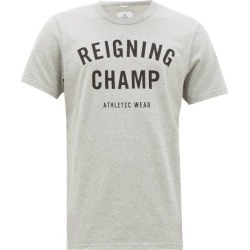 Reigning Champ - Logo-print Cotton-jersey T-shirt - Mens - Grey found on Bargain Bro India from Matches Global for $39.00
