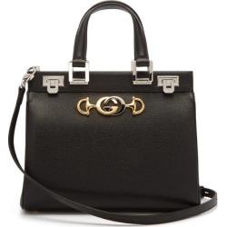 Gucci - Zumi Small Leather Handbag - Womens - Black found on Bargain Bro from MATCHESFASHION.COM - AU for USD $2,392.66
