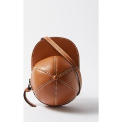 JW Anderson - Cap Midi Leather Cross-body Bag - Mens - Tan found on MODAPINS from Matches UK for USD $669.66
