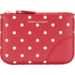 Comme Des Garçons Wallet - Polka-dot Leather Coin Purse - Womens - Red Multi found on MODAPINS from Matches UK for USD $122.22