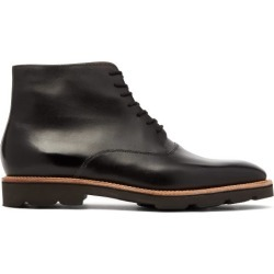 John Lobb - Burrow Leather Boots - Mens - Black found on MODAPINS from Matches Global for USD $1670.00