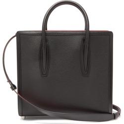 Christian Louboutin - Paloma Medium Grained-leather Tote Bag - Womens - Black Multi found on Bargain Bro from MATCHESFASHION.COM - AU for USD $2,031.77
