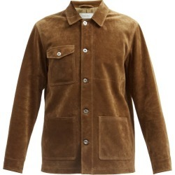 Caruso - Veste en daim à poches plaquées found on MODAPINS from matchesfashion.com fr for USD $2294.50