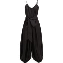 Kalita - Balloon Scoop-neckline Silk Jumpsuit - Womens - Black found on MODAPINS from Matches UK for USD $448.76