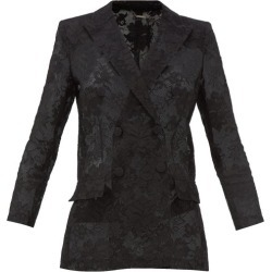 Givenchy - Bonded Floral-lace Blazer - Womens - Black found on Bargain Bro Philippines from MATCHESFASHION.COM - AU for $3019.47
