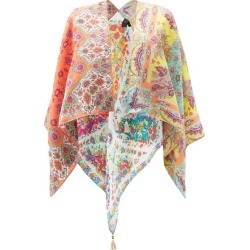 Etro - Floral-print Silk-twill Shawl - Womens - Multi found on Bargain Bro UK from Matches UK