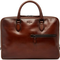 Berluti - Venezia Leather Briefcase - Mens - Brown found on MODAPINS from Matches UK for USD $3016.24