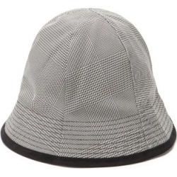 Marni - Glen-checked Twill Bucket Hat - Mens - Black Multi found on Bargain Bro from Matches UK for £332