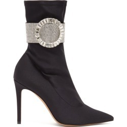 Alexandre Vauthier - Joan Crystal-embellished Ankle Boots - Womens - Black found on Bargain Bro UK from Matches UK