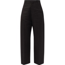 Jacquemus - Santon High-rise Cropped Wide-leg Trousers - Womens - Black found on Bargain Bro UK from Matches UK