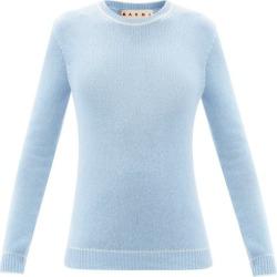 Marni - Cashmere Sweater - Womens - Light Blue found on Bargain Bro UK from Matches UK