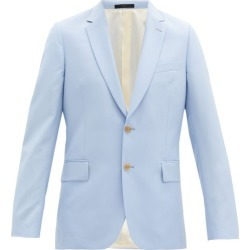 Paul Smith - Soho-fit Single-breasted Wool-blend Jacket - Mens - Light Blue found on Bargain Bro UK from Matches UK