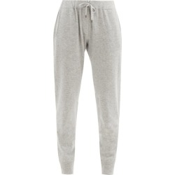 Brunello Cucinelli - Ribbed-cuff Cashmere Track Pants - Womens - Light Grey found on MODAPINS from Matches Global for USD $2145.00