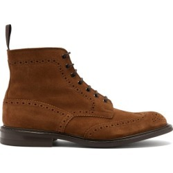 Tricker's - Bottes en daim à lacets Stow found on Bargain Bro Philippines from matchesfashion.com fr for $624.00