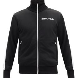 Palm Angels - Logo-print Jersey Track Jacket - Mens - Black found on Bargain Bro UK from Matches UK