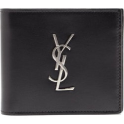 Saint Laurent - Ysl Monogram Leather Wallet - Mens - Black found on Bargain Bro UK from Matches UK
