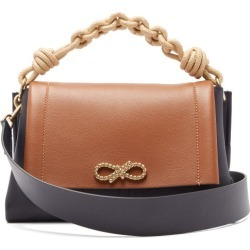 Anya Hindmarch - Sac porté épaule en cuir Rope Bow found on MODAPINS from matchesfashion.com fr for USD $1553.50