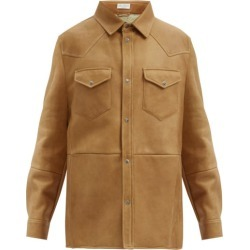 Brunello Cucinelli - Western Shearling Overshirt - Mens - Brown found on Bargain Bro UK from Matches UK
