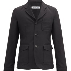 Comme Des Garçons Shirt - Patch-pocket Single-breasted Twill Jacket - Mens - Black found on MODAPINS from Matches UK for USD $938.17
