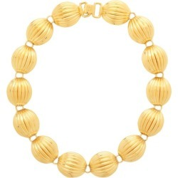 Loewe - Nutshell Gold-plated Necklace - Womens - Gold found on Bargain Bro UK from Matches UK