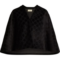 Gucci - Cape en velours GG found on MODAPINS from matchesfashion.com fr for USD $1634.10