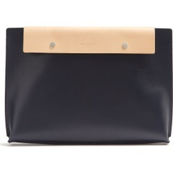 Addison leather pouch