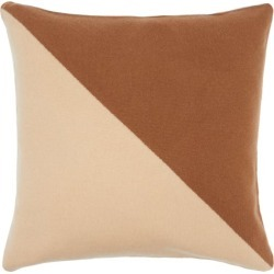 Allude - Coussin bicolore en cachemire found on MODAPINS from matchesfashion.com fr for USD $195.00