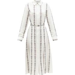 Gabriela Hearst - Robe-chemise en sergé de soie à imprimé Jane found on MODAPINS from matchesfashion.com fr for USD $2587.00