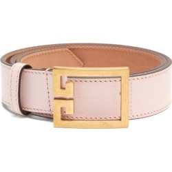 Givenchy - Double-g Leather Belt - Womens - Light Pink found on Bargain Bro Philippines from MATCHESFASHION.COM - AU for $436.15