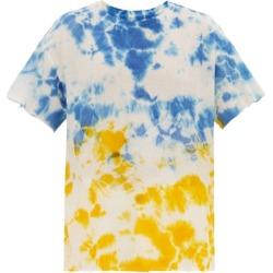 The Elder Statesman - T-shirt en cachemire mélangé tie-dye Favorite