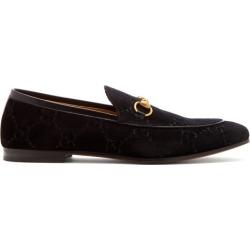 Gucci - Jordaan Velvet Loafers - Mens - Black found on Bargain Bro UK from Matches UK