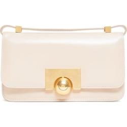 Bottega Veneta - The Classic Mini Leather Shoulder Bag - Womens - Beige found on Bargain Bro from MATCHESFASHION.COM - AU for USD $1,659.52