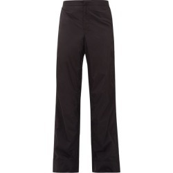Bianca Saunders - Deep Split Side Zip Technical Track Pants - Mens - Black found on Bargain Bro India from MATCHESFASHION.COM - AU for $194.26