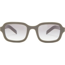 Prada Eyewear - Square Acetate Sunglasses - Mens - Green found on Bargain Bro from Matches Global for USD $266.00