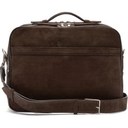 Métier - Wanderer Suede Messenger Bag - Mens - Brown found on Bargain Bro UK from Matches UK