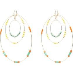 Etro - Glass-beaded Hoop Earrings - Womens - Green Multi found on Bargain Bro UK from Matches UK