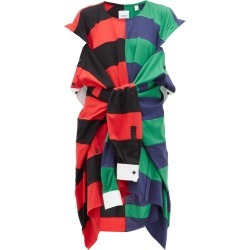 Burberry - Rugby-shirt Cotton Dress - Womens - Red Multi found on Bargain Bro Philippines from MATCHESFASHION.COM - AU for $1560.70