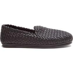Bottega Veneta - Intrecciato-leather Loafers - Mens - Black found on Bargain Bro UK from Matches UK