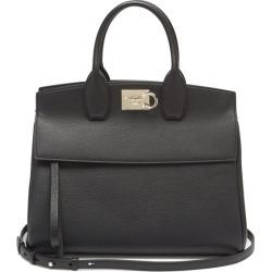 Salvatore Ferragamo - The Studio Grained-leather Bag - Womens - Black found on Bargain Bro UK from Matches UK