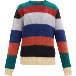 Marni - Striped Mohair-blend Sweater - Mens - Orange Multi found on Bargain Bro UK from Matches UK