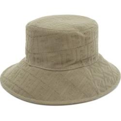 Fendi - Ff-jacquard Cotton Bucket Hat - Mens - Light Brown found on Bargain Bro UK from Matches UK