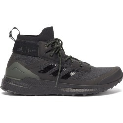 Adidas X Parley - Terrex Free Hiker High-top Recycled-fibre Trainers - Mens - Black Multi found on Bargain Bro UK from Matches UK
