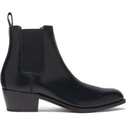 Grenson - Marco Leather Chelsea Boots - Mens - Black found on MODAPINS from Matches Global for USD $325.00