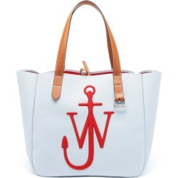 JW Anderson - Belt Embroidered-anchor Canvas Tote Bag - Mens - Blue Multi found on MODAPINS from Matches UK for USD $512.49