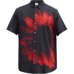 Ksubi - Dazed Floral-print Twill Shirt - Mens - Black found on MODAPINS from Matches UK for USD $211.99