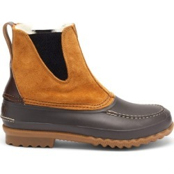 Quoddy - Bottes en daim, cuir et shearling Barn found on Bargain Bro Philippines from matchesfashion.com fr for $448.50