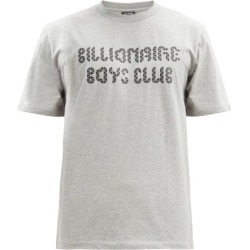 Billionaire Boys Club - Magnetic Logo-print Cotton-jersey T-shirt - Mens - Light Grey found on MODAPINS from Matches Global for USD $86.00