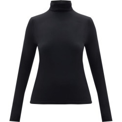Wolford - Roll-neck Jersey Top - Womens - Black found on Bargain Bro from Matches Global for USD $144.40