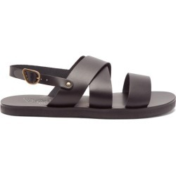 Ancient Greek Sandals - Miltos Leather Sandals - Mens - Black found on MODAPINS from Matches Global for USD $205.00