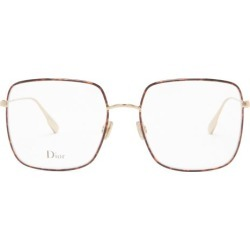Dior Eyewear - Diorstellaire1 Square Tortoiseshell Metal Glasses - Womens - Gold found on MODAPINS from MATCHESFASHION.COM - AU for USD $338.69